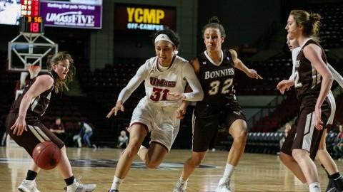 Upset in Amherst: UMass women's basketball tops heavily favored St. Bonaventure Saturday at Mullins Center