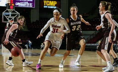 UMass women's basketball looks to end eight-year drought against Dayton Wednesday