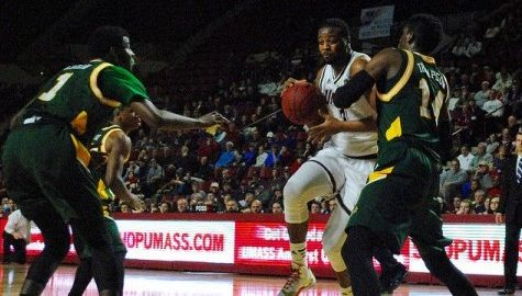 Antwan Space ready to build off performance against George Mason as UMass men's basketball enters final stretch of regular season