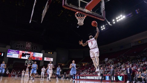 UMass men's basketball snaps losing skid in overtime victory over URI