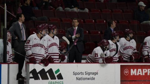 UMass hockey swept by Northeastern after 4-2 loss