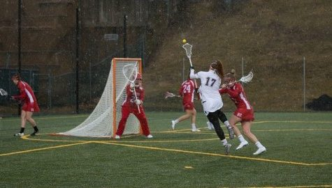 Strong first half powers UMass women's lacrosse past Boston University