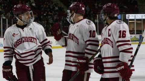 UMass hockey outmatched by No. 5 Providence on Senior Night
