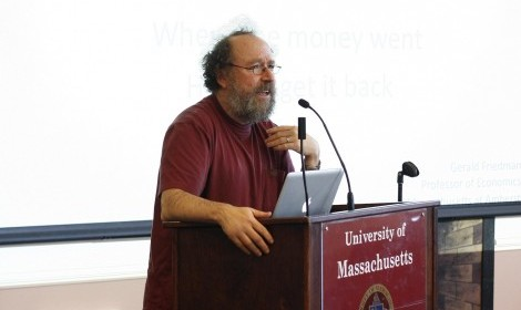 UMass economist's support of Bernie Sanders'economic plan receives national attention
