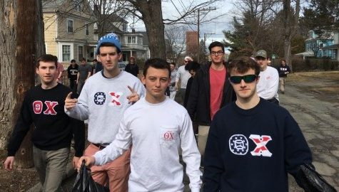 Greek Life members collaborate for 'Fraternity Spring Cleanup'