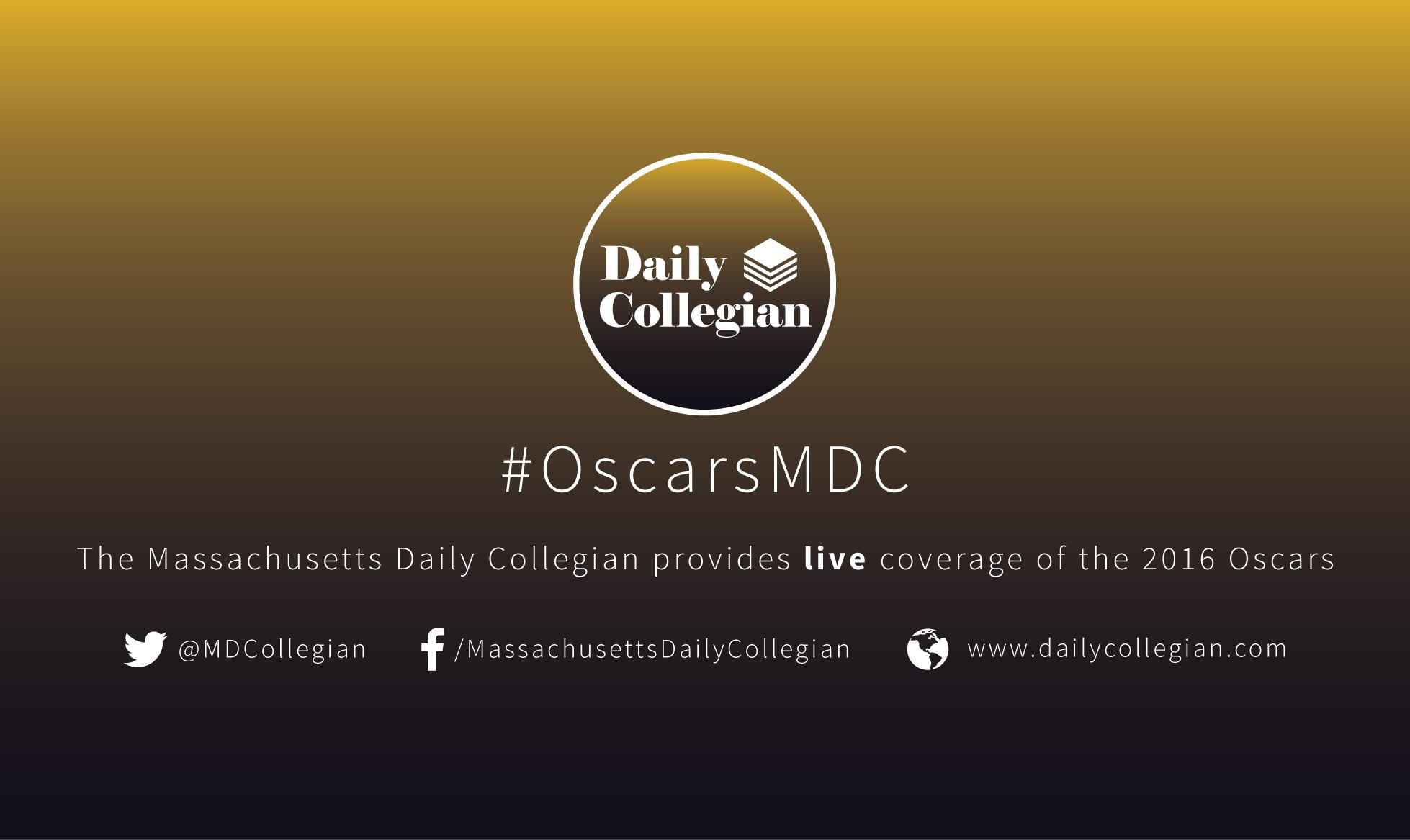 The Collegian live tweets the Oscars