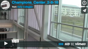 First inside look at the John Francis Kennedy Champions Center