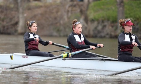 UMass rowing swept by URI in opening weekend