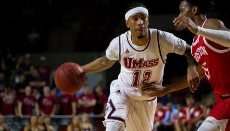 Trey Davis, Jabarie Hinds lead UMass men's basketball past La Salle on Senior Night