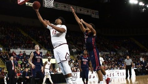 Slow first half dooms UMass men's basketball in loss to URI Thursday