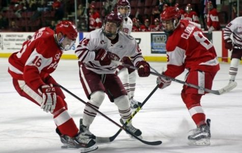UMass hockey swept by BU in first round of Hockey East tournament