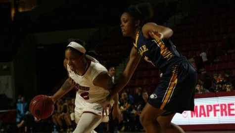 UMass women's basketball season characterized by streaks