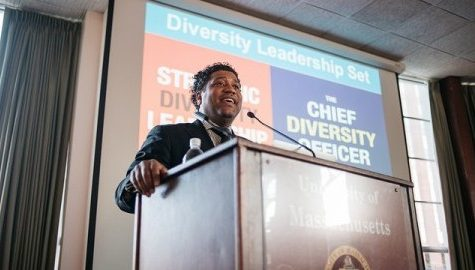 Damon Williams discusses ways UMass can improve diversity