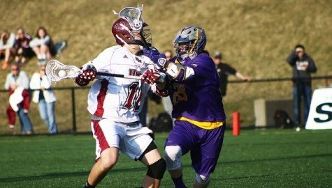 UMass men's lacrosse offense almost nonexistent in 16-4 loss to Albany Tuesday afternoon