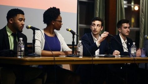 SGA Executive Debate candidates focus on diversity, inclusion Thursday night