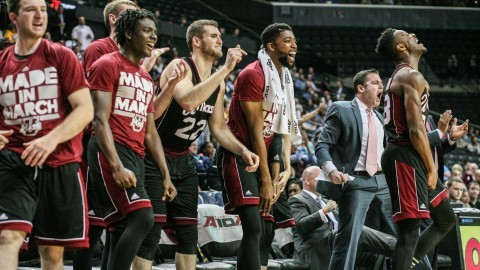 UMass men's basketball escapes URI's late comeback attempt to advance to quarterfinals of A-10 tournament