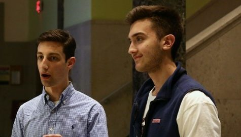 SGA Candidates: Anthony Vitale and Nick Rampone