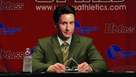 UMass hockey names Gordon Bombay as its next head coach