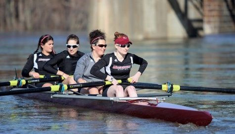 UMass rowing overcomes harsh conditions again at Knecht Cup
