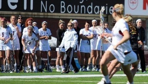 Angela McMahon reflects on hitting 100 career wins with UMass women's lacrosse in just five and a half seasons into her tenure