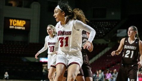 UMass women's basketball's Kymber Hill reunites with newly-hired coach Tory Verdi for her final season