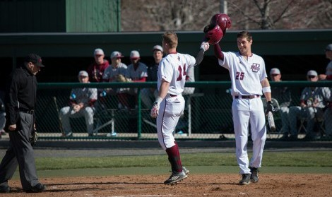 UMass baseball scores two late runs to pull out 6-5 win against Central Connecticut State in 10 innings Tuesday