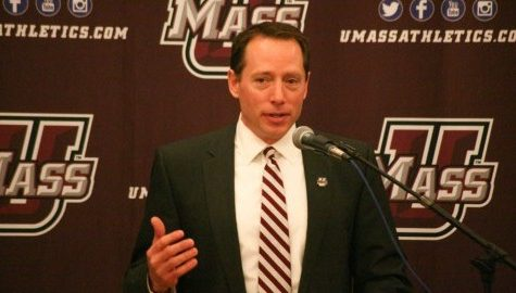 Greg Carvel announces new coaching staff for UMass hockey