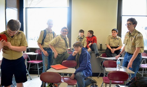 Boy Scouts learn new badges at 25th Merit Badge University