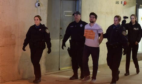 UMPD arrests 15 students in connection with UMass Divest sit-in
