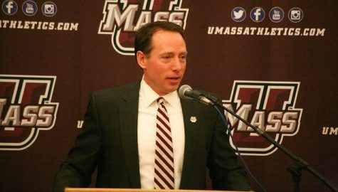 UMass hockey coach Greg Carvel readies for rebuilding process