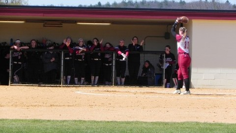 Meg Colleran splits decisions in Saturdays doubleheader after pitching 12 total innings