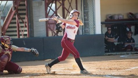 Kristi Stefanoni earns 50th career win for UMass softball