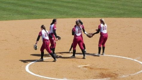 UMass softball splits doubleheader with St. Joe's Saturday