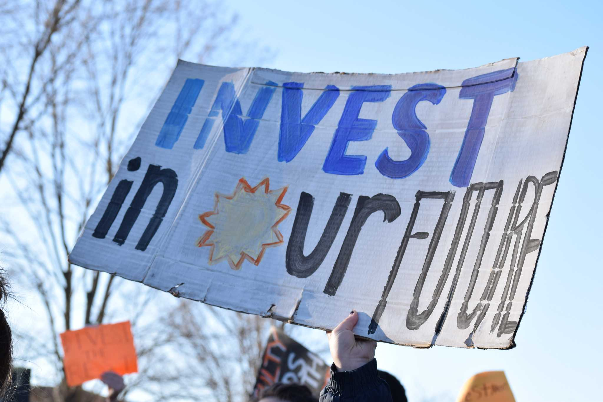 SLIDESHOW: Divest the Rest sit-in, day 4
