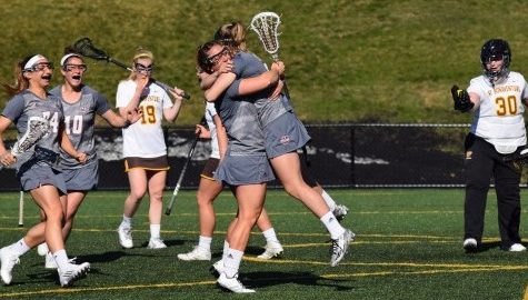 UMass women's lacrosse scores 19 goals in Sunday's win against La Salle