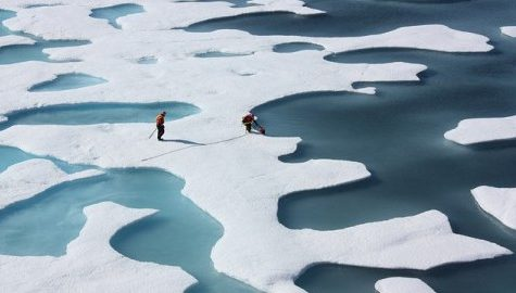 UMass professors receive grant to explore the past effects of Greenland's climate change