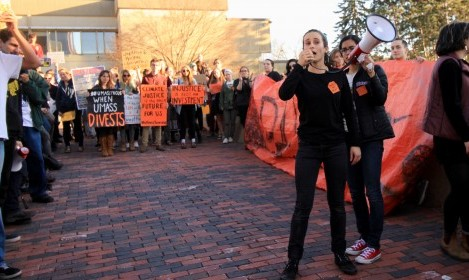 VIDEO: Divest UMass holds week-long sit-in protest
