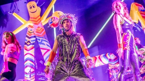 Sufjan Stevens unearths quirk at Boston Calling