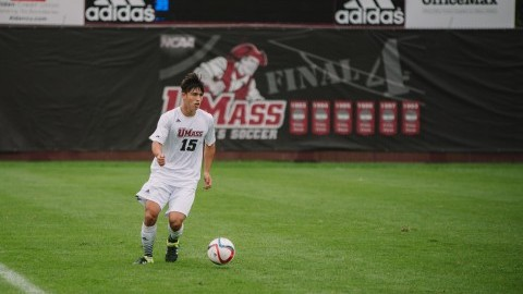 UMass men's soccer falls 2-0 vs. Colgate