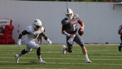 Andrew Ford, Ross Comis still battling for UMass football's starting QB position
