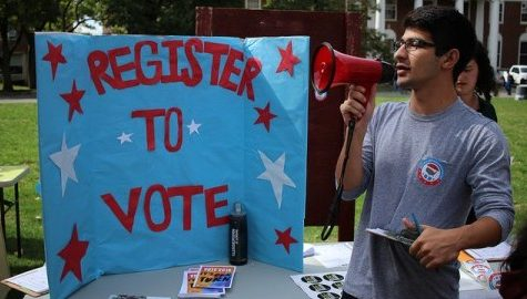 UMass Votes Coalition hosts voter registration event