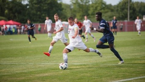 UMass men's soccer ties Saint Peter's in home opener
