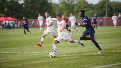 UMass men's soccer ties Saint Peter's in home opener