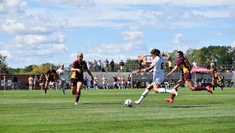 UMass women's soccer loses to Providence after sluggish first half