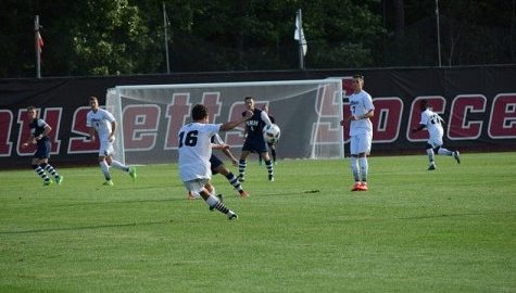 UMass men's soccer plans to continue growth against Albany Tuesday