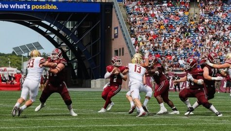 Notebook: Wrapping up UMass football's loss to Boston College, former Minutemen receivers shine in NFL week one