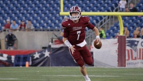 Andrew Ford looks to continue to lead UMass football's torrid offensive passing attack