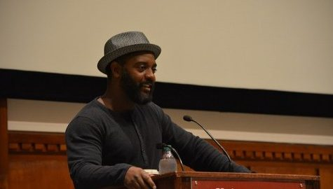 Author, poet and ex-con gives talk on criminal justice reform