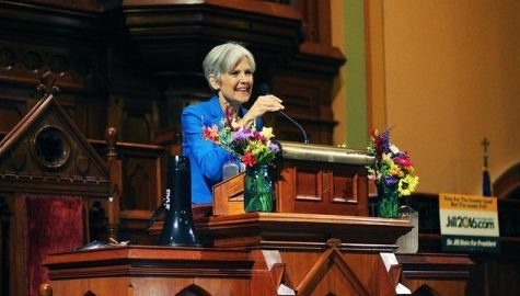 Jill Stein Rallies for Political Change in Northampton