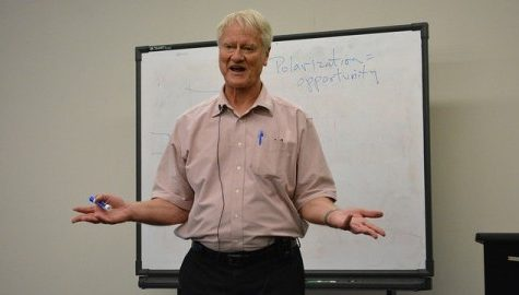 UMass Resistance Studies Initiative hosts activist and author George Lakey